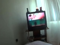 Me&amp_neighbor Mrs Chawla-shower all round bed&amp_sofa watching porn movie multi sessions