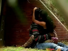 Indian Couple Boob Press &amp_ Fuck Hither Park