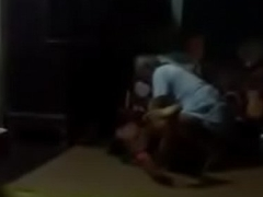 Neighbour tharki buddha bengali houseowner school master fucks maid  in absence of wife with hot fucking politic closely guarded video.MP4
