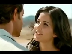 Bollywood Katrina Kaif All about Hot Kisses Liplock Video