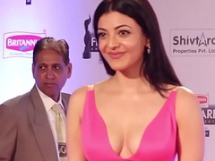 Kajal Aggarwal at Filmfare Awards 2016   In flames Carpet   ViralBollywood