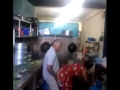 indian man made quicky with maid matey