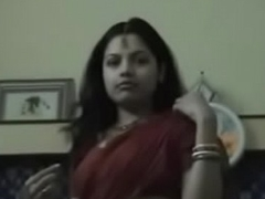 Indian Couple lovin' honeymoon in hotel