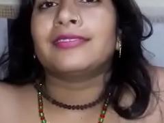 Desi blue aunty