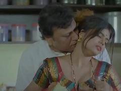 Bhabhi hard-core fucking with servent